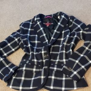 Plaid NWOT blazer